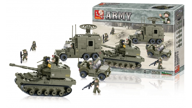 Sluban M38-B0308 Army Elite Armored Division