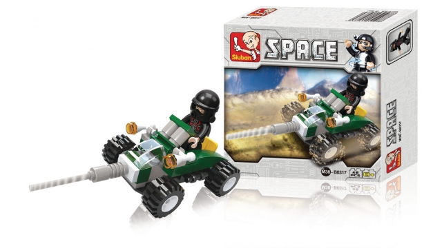 Sluban M38-B0317 Space Quad 48-delig