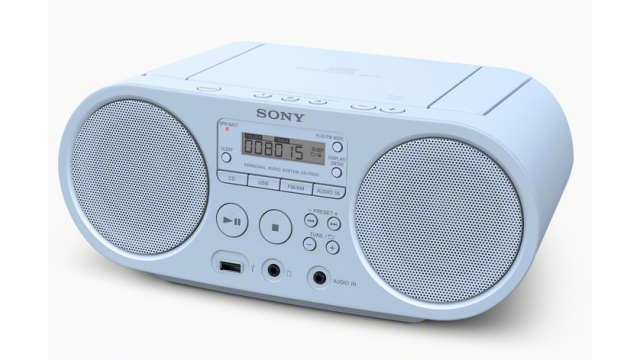 Sony ZS-PS 50 Radioplayer blauw