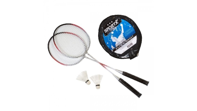 SportX Superluxe Badminton Set Assorti