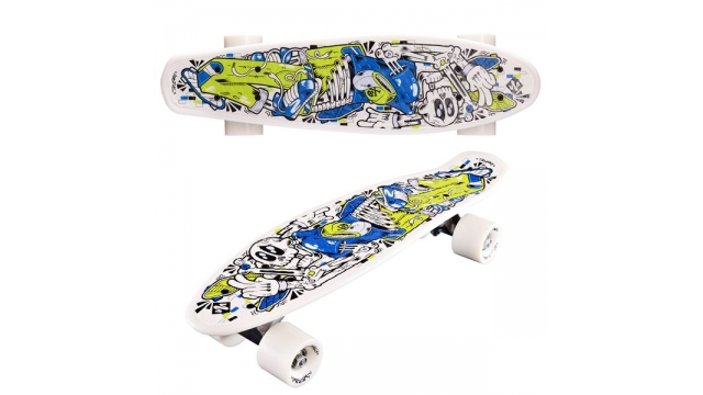 Street Surfing Pop Board Skeletron