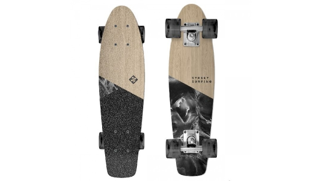 Street Surfing Beach Wood Skateboard