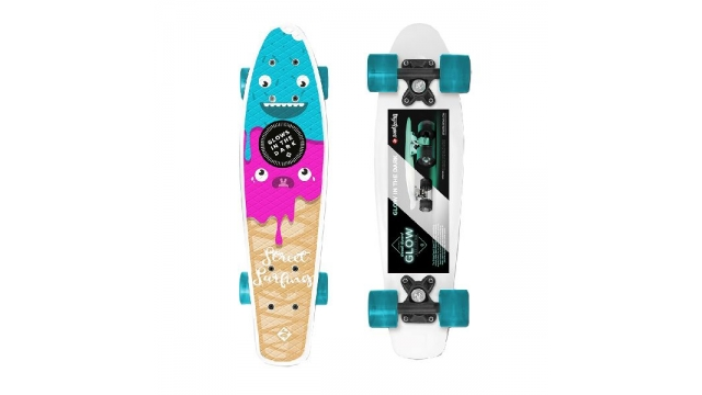 Street Surfing Glow In The Dark Board