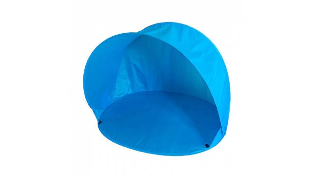 Summertime Pop-Up Beachshelter Blauw + Tas 150x110x100 cm