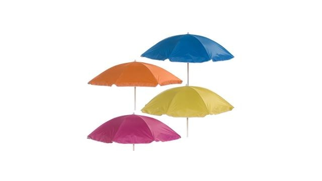 Summertime Mix Parasol 180cm Assorti