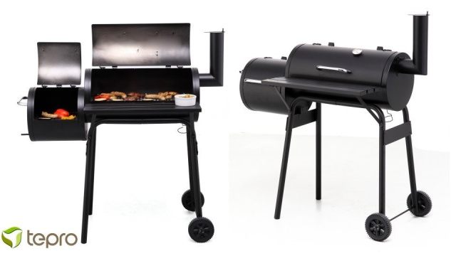 Tepro Wichita Houtskool Smoker Barbecue