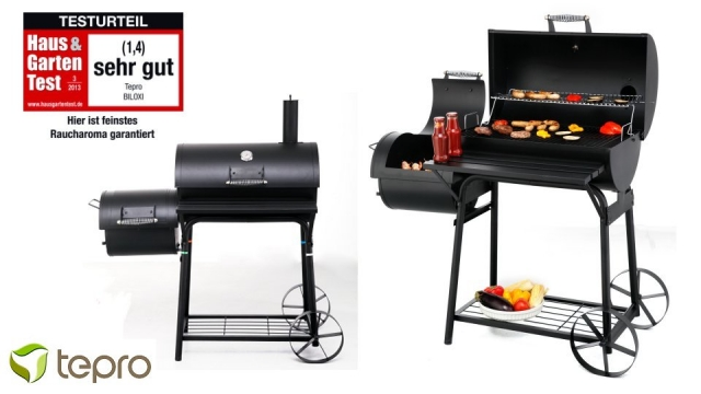 Tepro Biloxi Houtskool Smoker Barbecue