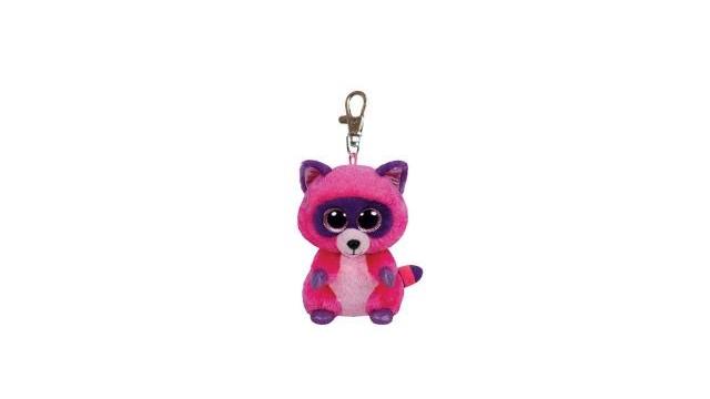 TY Beanie Boo Clip Roxie Wasbeer Knuffel