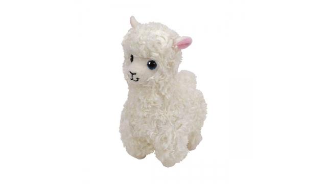 e15999a2164 TY Classic Witte Alpaca Knuffel Lily 15 cm