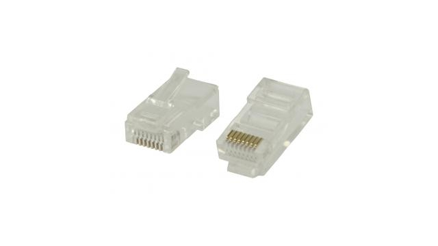Valueline Vlcp89300t Rj45 Connectoren voor Solid Utp Cat 5 Kabels