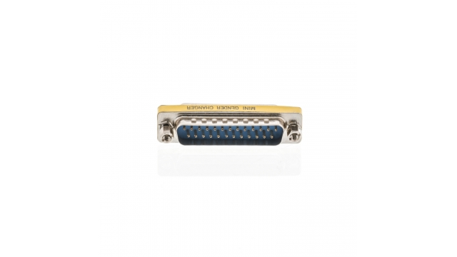 Valueline VLCP52816M Seriële Adapter Sub-d 25-pins Male - Sub-d 25-pins Male Metaal