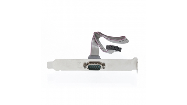 Valueline VLCP52090E03 Seriële Adapter Sub-d 9-pins Male - Idc 10-pins Metaal