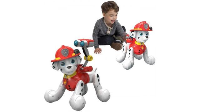Zoomer Paw Patrol Zooming Marshall Robot